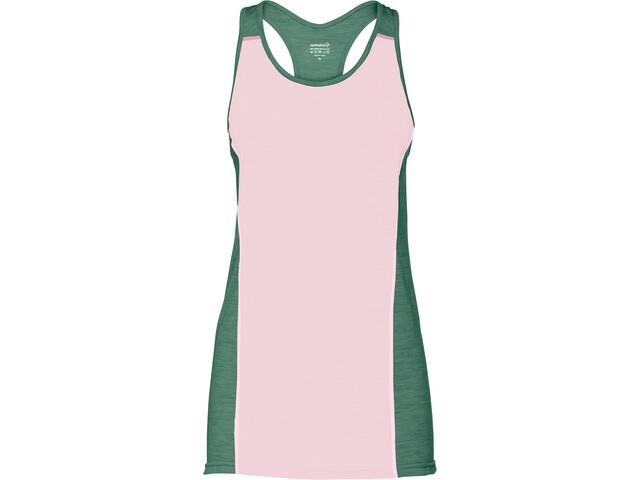 Norrøna Wool Maillot de triathlon Femme, candy pink
